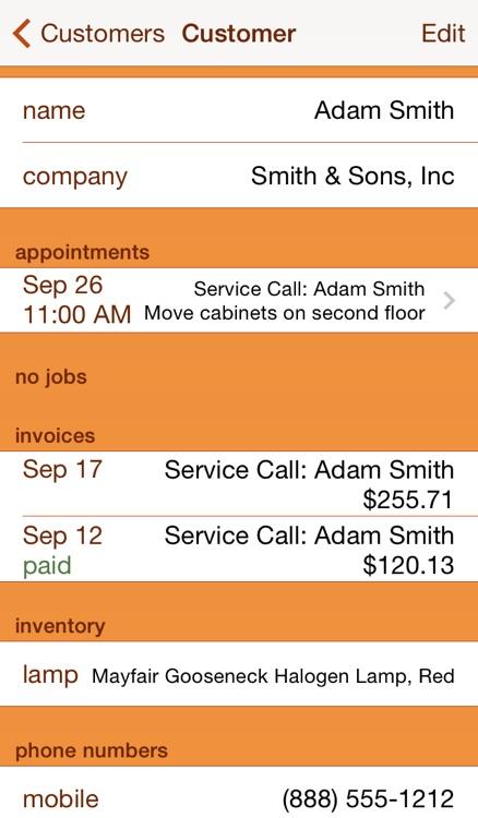 Service Call screenshot-3