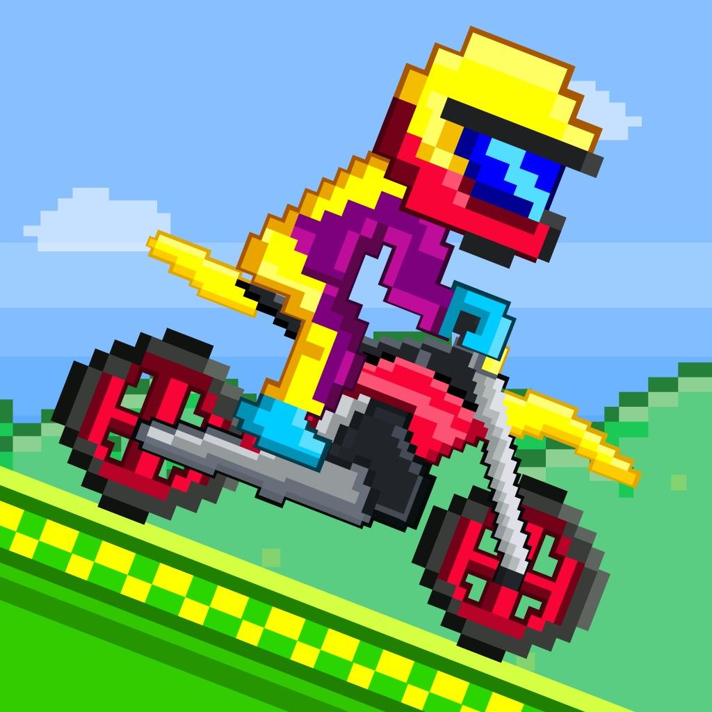 Moto bikers free retro 8 bit pixel games jeu x de garcon s 2048 gratuit s duel pour swamp - Jeux de garcon gratuit moto ...