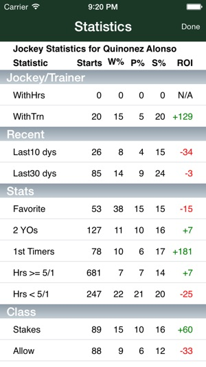 TrackMaster Pocket Handicapper PPs on the App Store