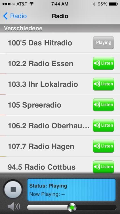 Deutschland Radio und Nachrichten screenshot-4