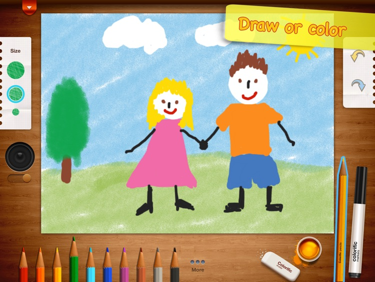 Colorific - drawing and coloring book