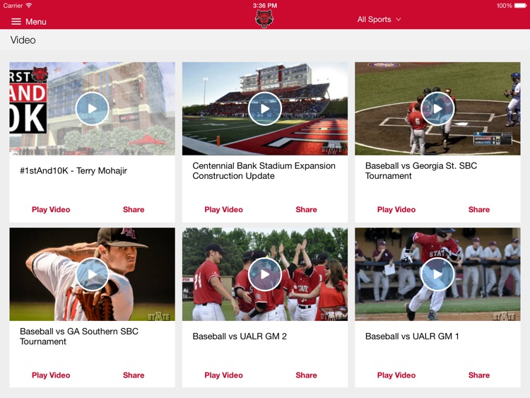 A-State Athletics for iPad screenshot-2
