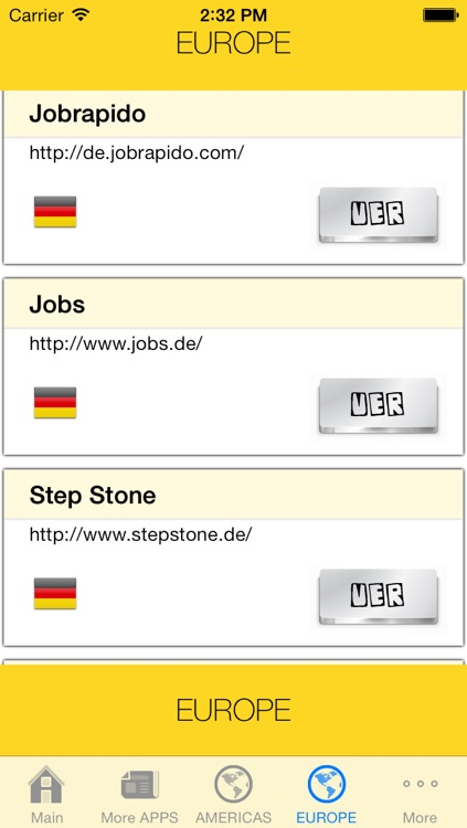 Job Search Engines List: Web Links screenshot-3