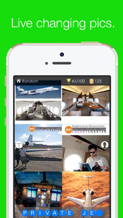 Pixtaword: Word Guessing Game for Instagram