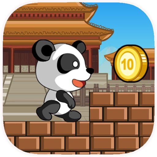 A Cute Panda Run Free - Escape From The Forbidden Forest Of Alxabiar