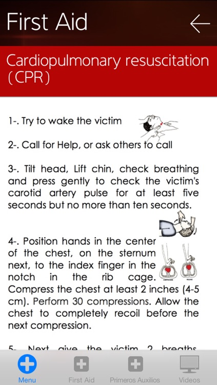SOS First Aid screenshot-2