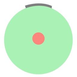 Circle pong bong