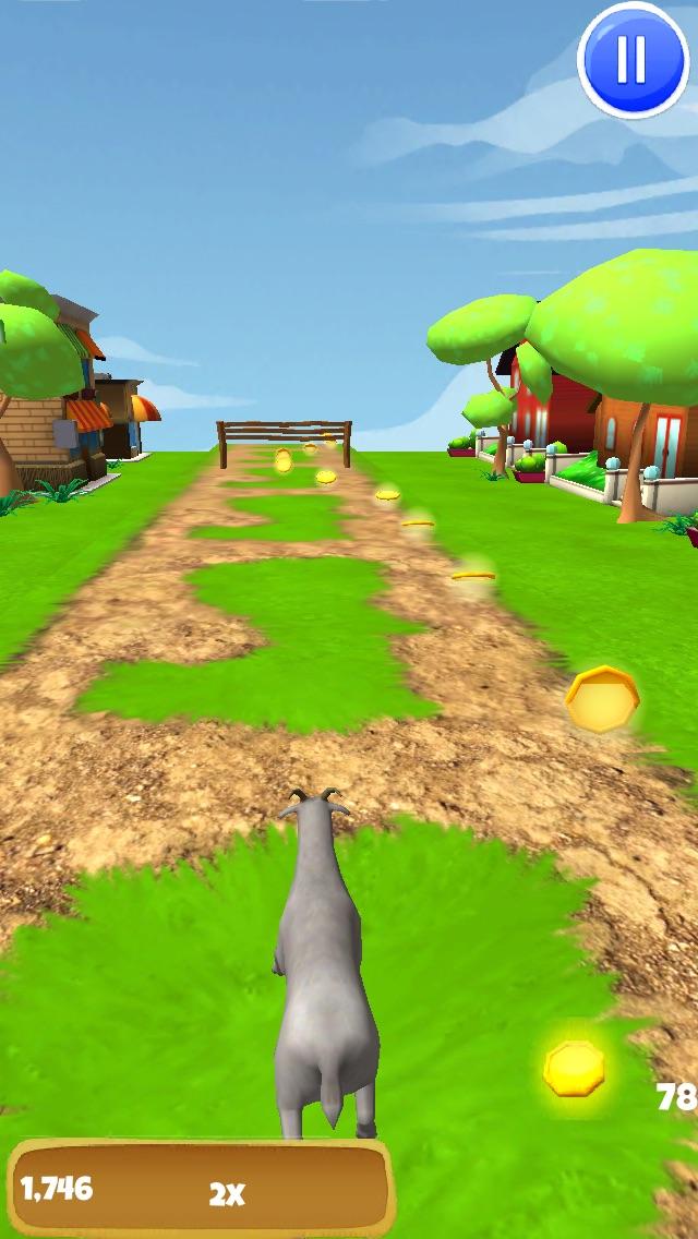 3Dヤギの脱出 - クレイジー暴れF2Pゲーム版 - 無料のスクリーンショット3