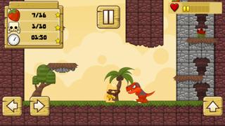 Screenshot from Angry Caveman: Dinosaur Hunter