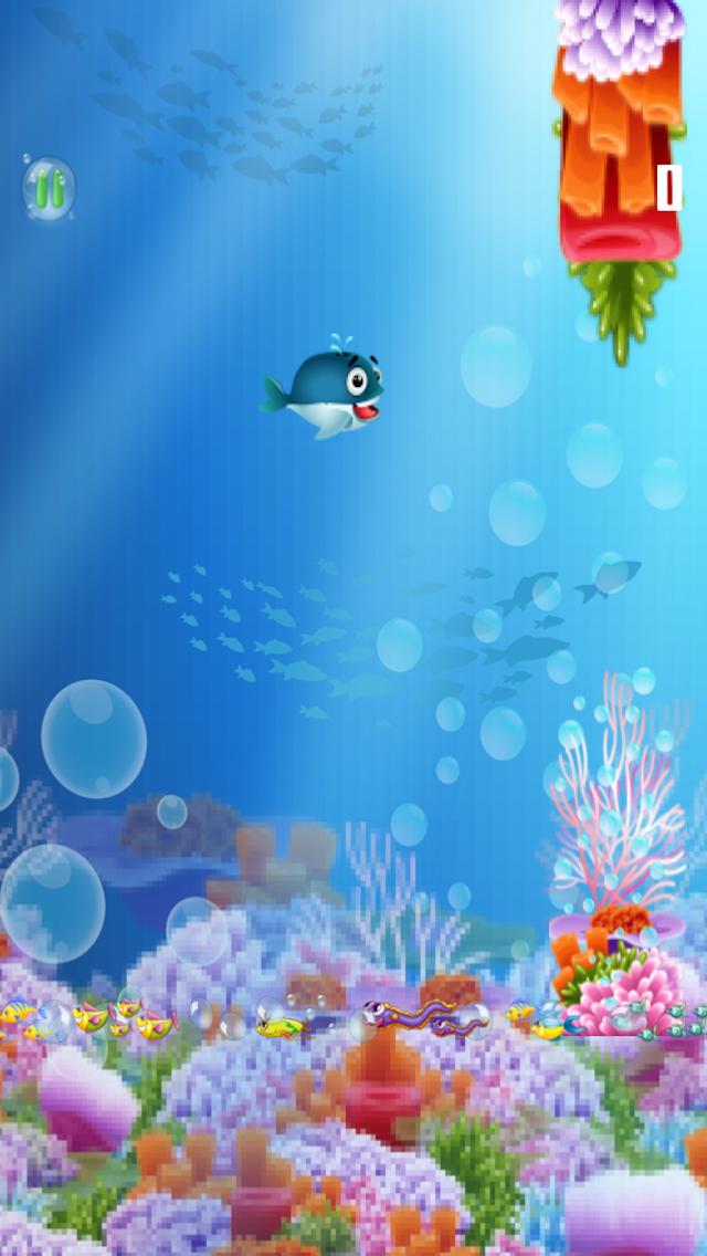 ゆるい - フィンクジラゲーム A Flappy-Fins Whale Gameのおすすめ画像3