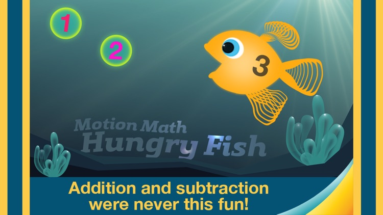 Motion Math: Hungry Fish screenshot-0