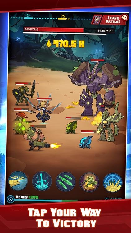Battleborn® Tap screenshot-0