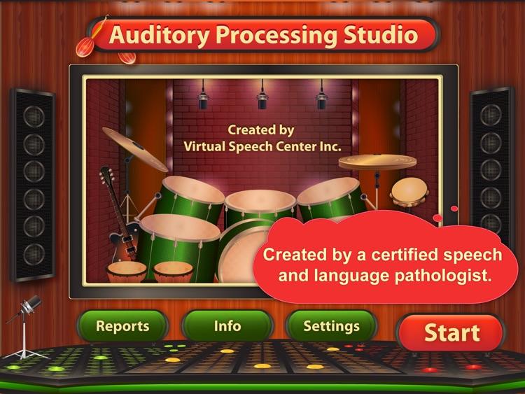 Auditory Processing Studio