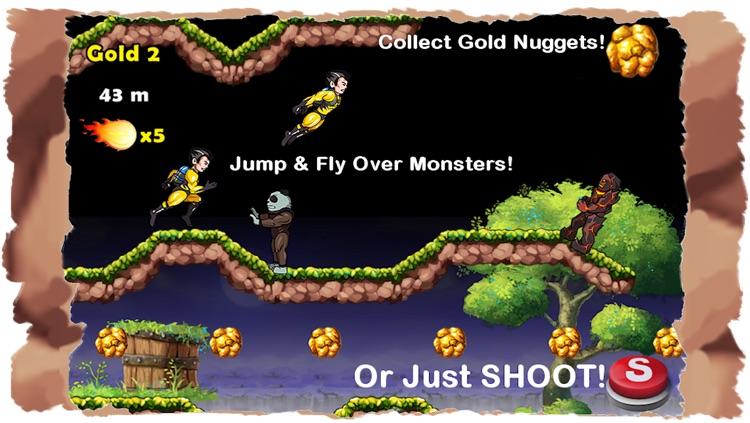 Super Hero Action JetPack Man - Best Super Fun Mega Adventure Race Game