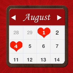Love Planner & Calendar - Remember all the romantic moments with your sweetheart