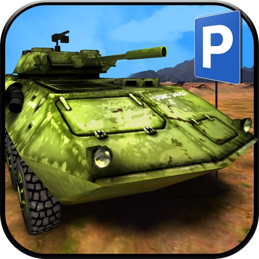 3D Army Simulator - Real Life Driving and Parking Test Run - Drive and Park Military Truck, Car and Tank icon