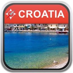 Offline Map Croatia: City Navigator Maps