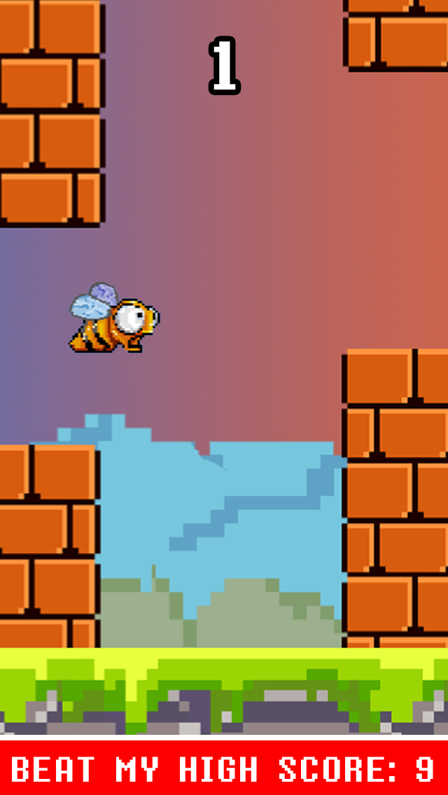 Flappy Fly Hard ™ - Not An Easy Bird Game Impossible!のおすすめ画像3