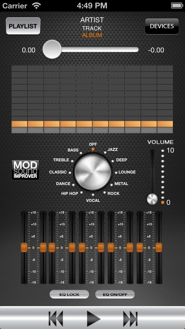 MOD Equalizer by Hellatron Spa (iOS, United States