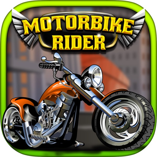 Motorbike Rider : Street games of motorcycle racing and crime