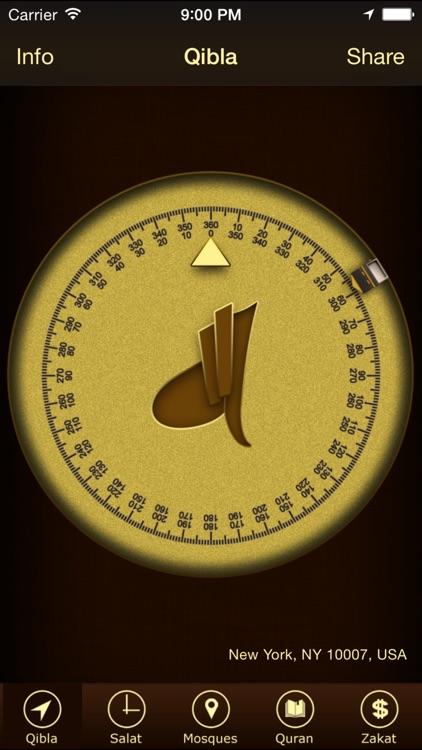 Prayer Times & Qibla Compass+