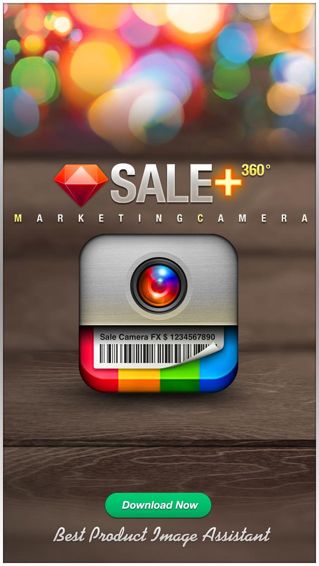 Screenshot #1 pour VENTE Caméra - la commercialisation des effets de caméra, plus éditeur de photos
