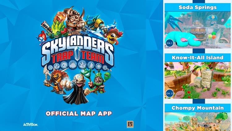 Official Strategy App for Skylanders Trap Team