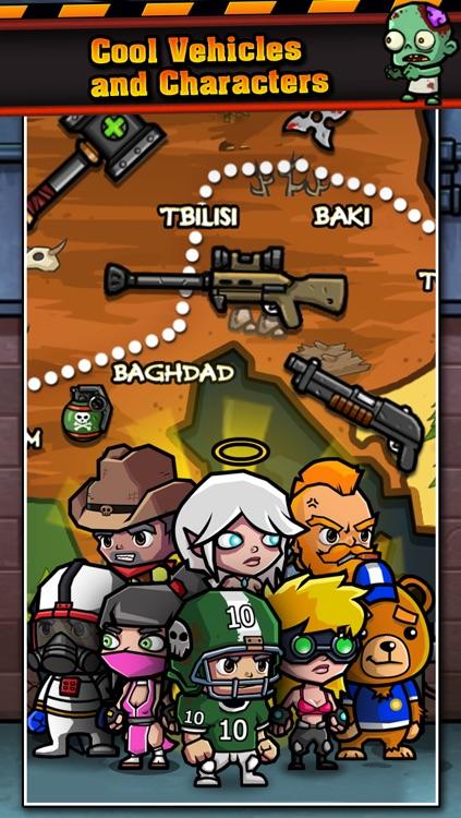 Adventures in Zombie World – Multiplayer Car Racing screenshot-3