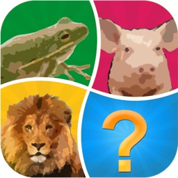 Word Pic Quiz Animals - guess favorites from the ocean, jungle, farm and pets