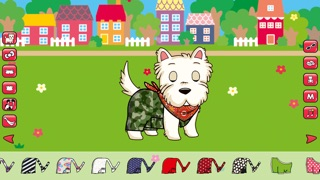 Dress Up! Cute puppies Screenshot on iOS
