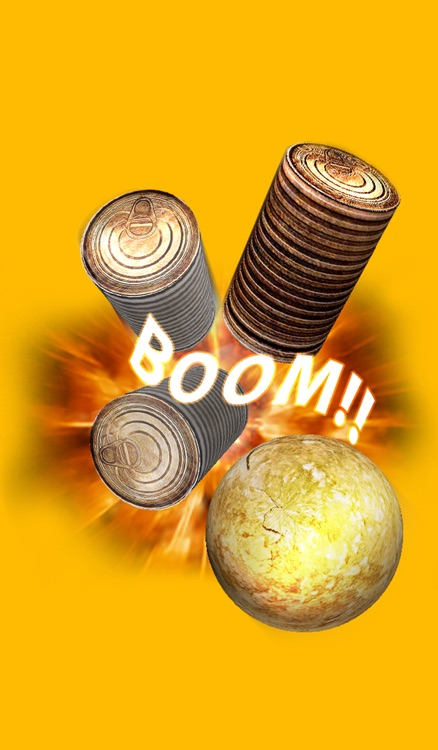 Game strike the can with stone - جديد.. لعبة رجم العلب بالحجارة