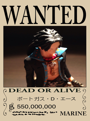 OP Poster Maker - An One Piece style pirate wanted poster maker