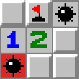 Minesweeper Game. Mine Sweeper Deluxe King Marble Legend Game.