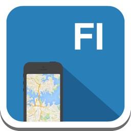 Finland & Helsinki offline map, guide, weather, hotels. Free GPS navigation.