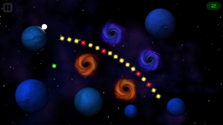 ORBB - A casual, relaxing, and challenging ethereal space experience game screenshot-0
