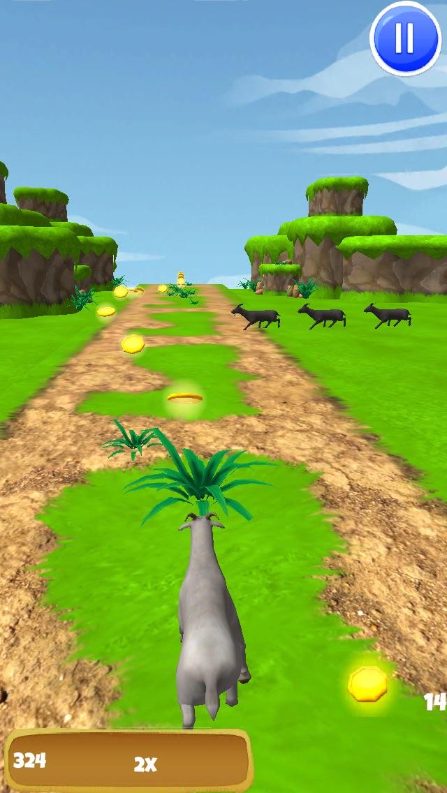 3Dヤギの脱出 - クレイジー暴れF2Pゲーム版 - 無料のスクリーンショット4