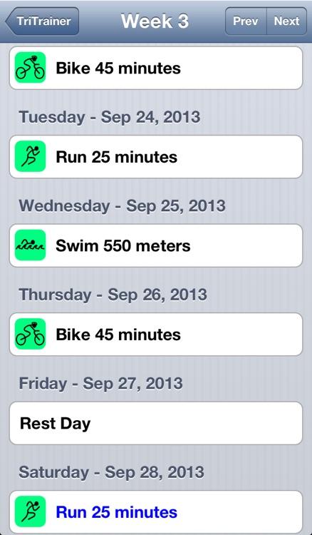 Triathlon Trainer screenshot-3