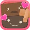 チョコわけ - バレンタインをラブラブに!キュートでおちゃめなチョコレートのだるま落としゲーム