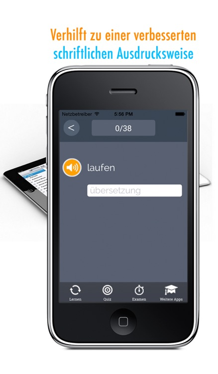 Learn German and French: Memorize Words - Free screenshot-3