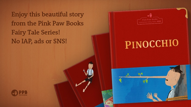 Pinocchio - Pink Paw Books Interactive Fairy Tale Series screenshot-4