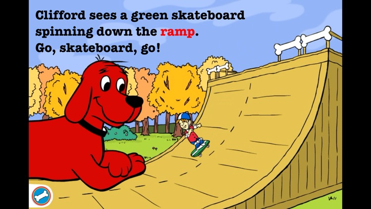 Go, Clifford, Go! for iPhone