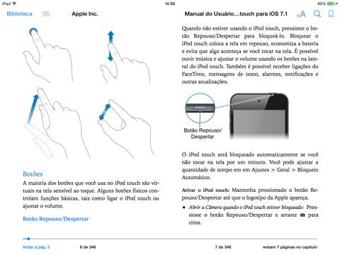 manual do usu rio do ipod touch para ios 7 1 by apple inc on ibooks rh itunes apple com apple ipod touch manual manual for ipod touch
