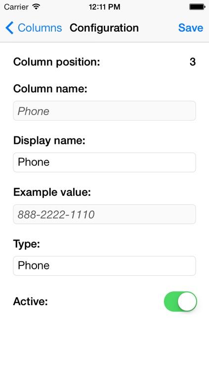 Contact List screenshot-3