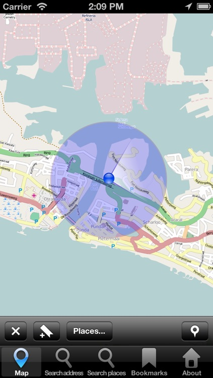 Offline Map Curacao: City Navigator Maps screenshot-1