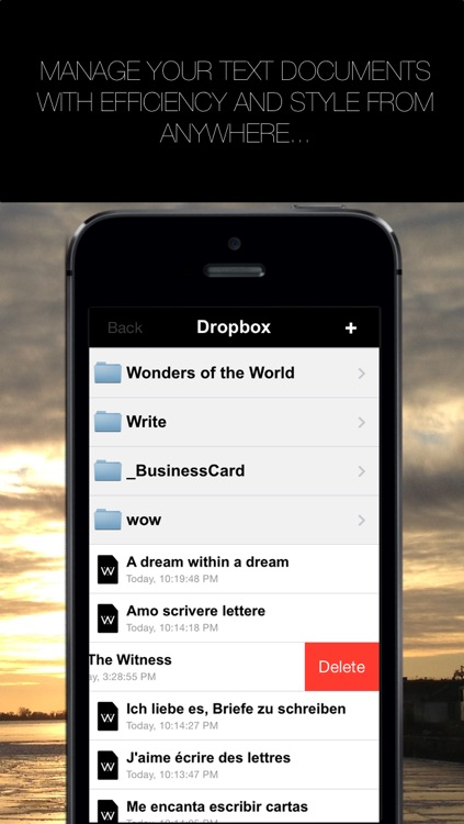 Write for Dropbox and iCloud screenshot-3