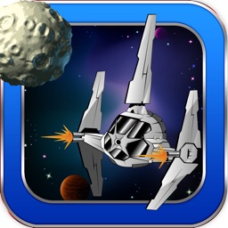 Asteroid Meteor Storm Games - Battle Gunship Asteroids Escape Game