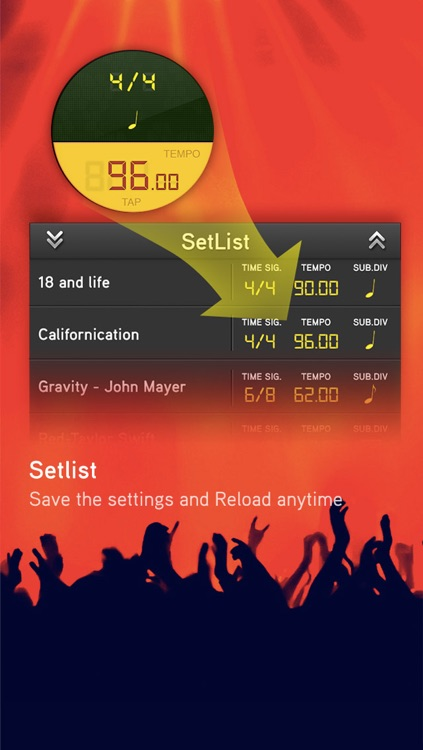 Beat On - Advanced Metronome with Training Modes screenshot-3