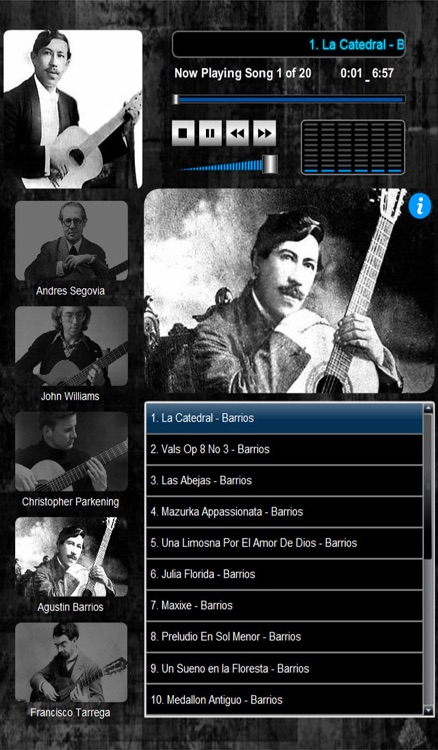Classical Guitar Maestro (5 Master Guitarists 100 Compositions) screenshot-3