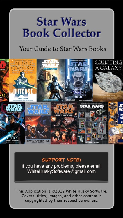 Star Wars Books Collector screenshot-0
