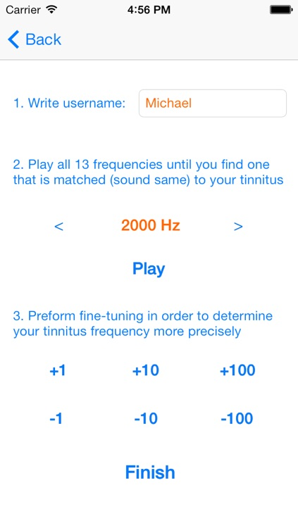 Tinnitus Music Trainer